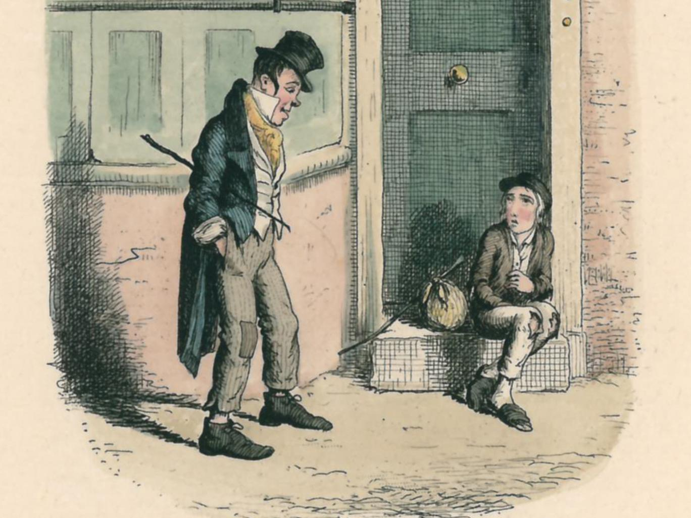 an analysis of the oliver twist and the anchor of character development by charles dickens Character list: oliver twist, charlotte the maid, and noah claypole oliver twist is the protagonist in the self-titled novel his surrounding treats him with cruelty write a five paragraph letter in response to the sample analysis (click here to access the text), arguing either of the following.